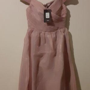 Fashion Nova Dresses - Jamila off should mauve dress